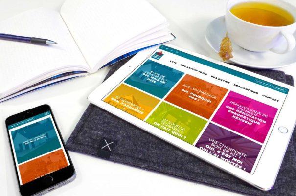 Conçu par Mars Rouge de Julien Di Giusto, LUTZ est développé en responsive web design.