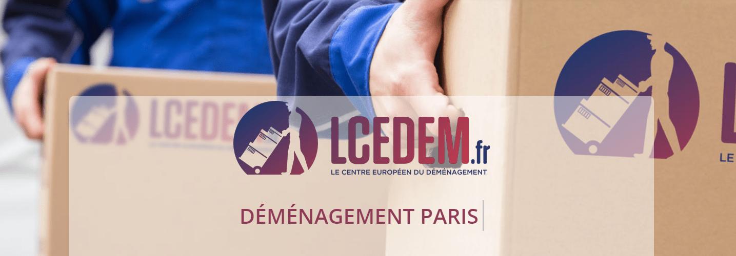 Lcedem : Entreprise de déménagement en Île-de-France