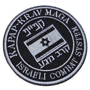 Israel Kapap Krav-Maga Patch Bordado Para Kimono Jaqueta