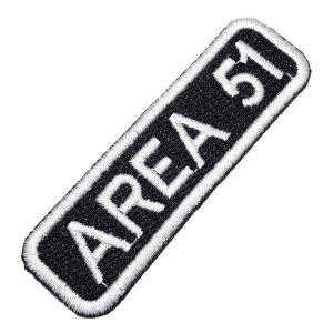 Área 51 Patch Bordado Para Colete Moto Jaqueta Camisa Roupa