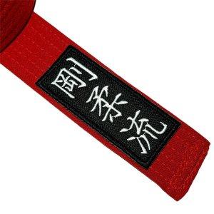 Karate Goju-Ryu Patch Bordado Termo Adesivo Para Kimono