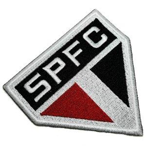 Escudo Futebol Brasil SP Patch Bordado Termo Adesivo