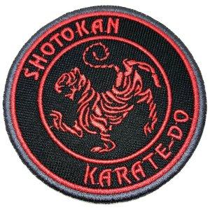 Karatê Shotokan patch bordado passar a ferro ou costura