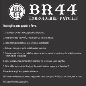 Escudo Futebol Brasil RS Patch Bordado passar ferro costurar