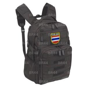 BP0206EV 01 Bandeira Tailândia Patch Bordada Fecho Contato