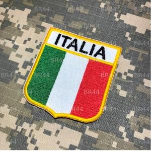 BEIN007 A Bandeira Itália Patch Bordado Termo Adesivo