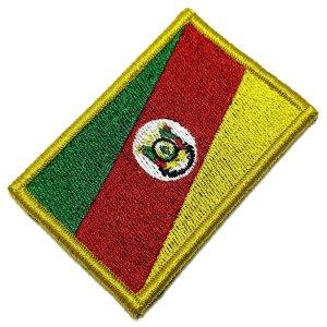 BE0019V 01 Rio Grande Do Sul RS Patch Bordado Fecho Contato