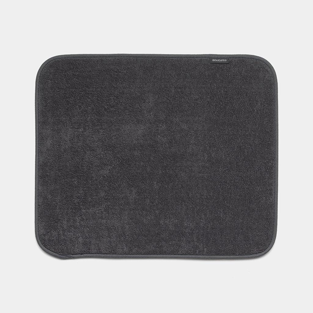 tapis egouttoir en microfibre dark grey