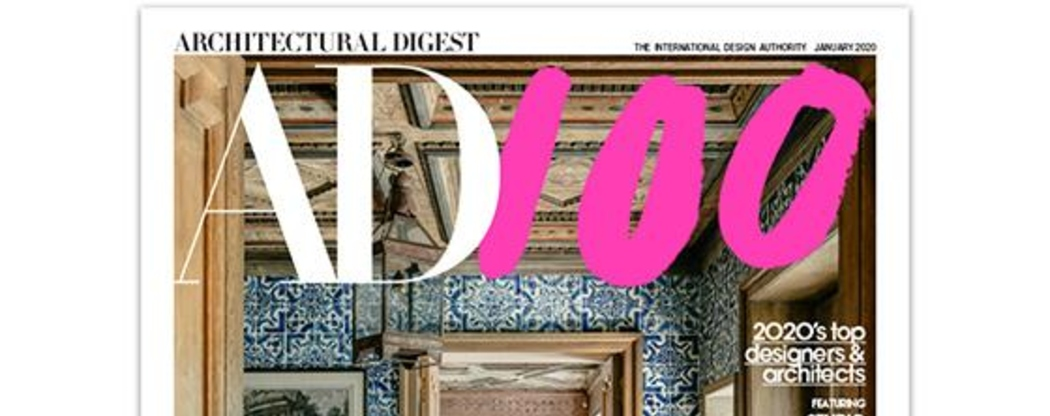 Architectural Digest Releases A New Book Ad 100 A Century Of Style News Events By Brabbu Design Forces