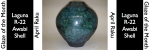 Awabi Shell: April Raku Glaze of the Month