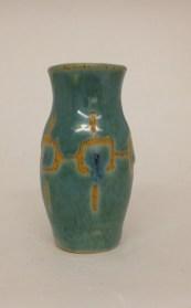 kiwi vase by Lorie Huyett