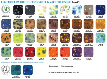 The complete selection of CTL Glazes
