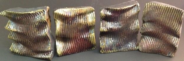 Copper Patina test tiles