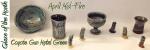 Gun Metal Green – April Mid-Fire Glaze of the Month