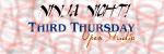 Ninja Night – Third Thursday Open Studio