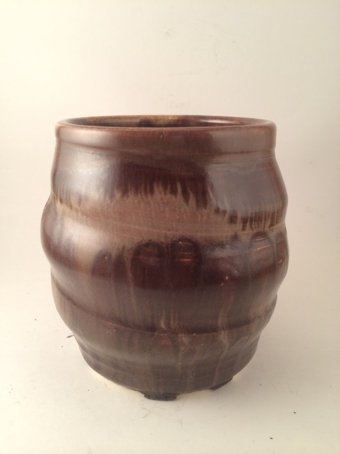 Antique Brown swirled with Mocha