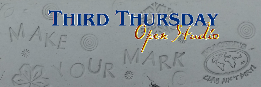 Make your Mark at Bracker's!  Third Thursday Open Studio