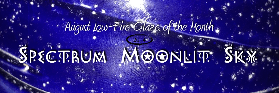 Low-Fire Glaze of the month – Moonlit Sky