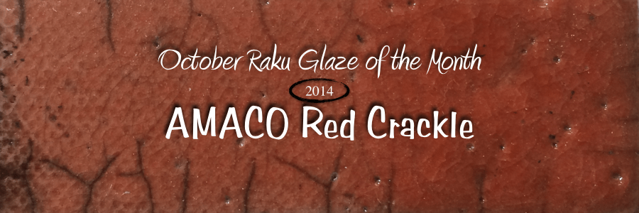 Raku GOTM – Red Crackle