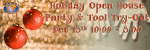 2nd Annual Bracker Holiday Open House Party and Tool Try-Out
