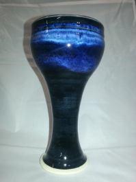 Aaron Riffel - Blue rutile and Obsidian