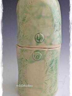 Anita Colvard Standard 181, cone 6, True Celadon brushed