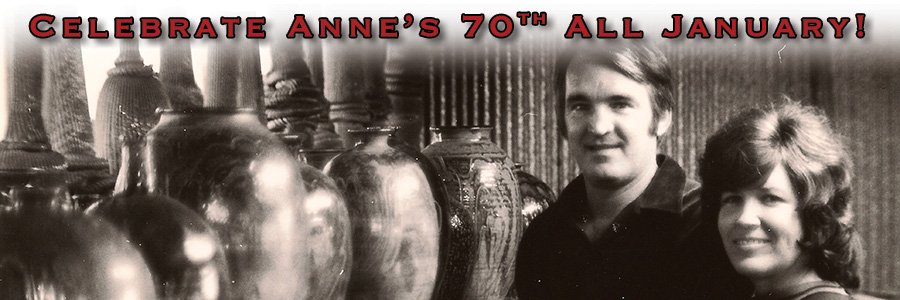 Celebrate the 70th birthday of Anne W. Bracker all January!