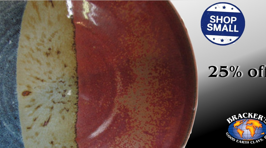 Small Business Saturday Specials – Glazes 25% off!