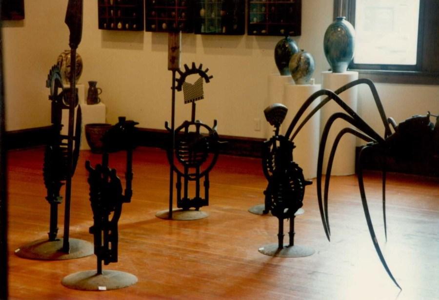 Bill Bracker Sculpture