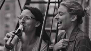 Mickey Sumner and Greta Gerwig in Franes Ha