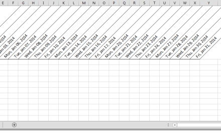 Excel Shortcuts: Build A Quick Weekday Date List in Excel