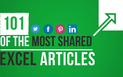 101 of the Most Shared Excel Articles You Need to Read