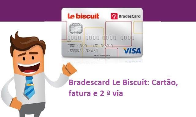 Bradescard Le Biscuit Cartao Fatura E 2 ª Via Bradescard Online