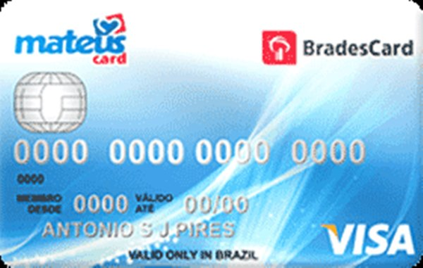 Bradescard Mateus Card