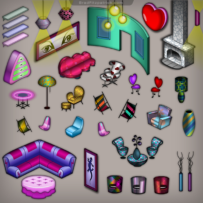 Planet-Cazmo-Virtual-World-Game-House-Asset-Icon-Design_03