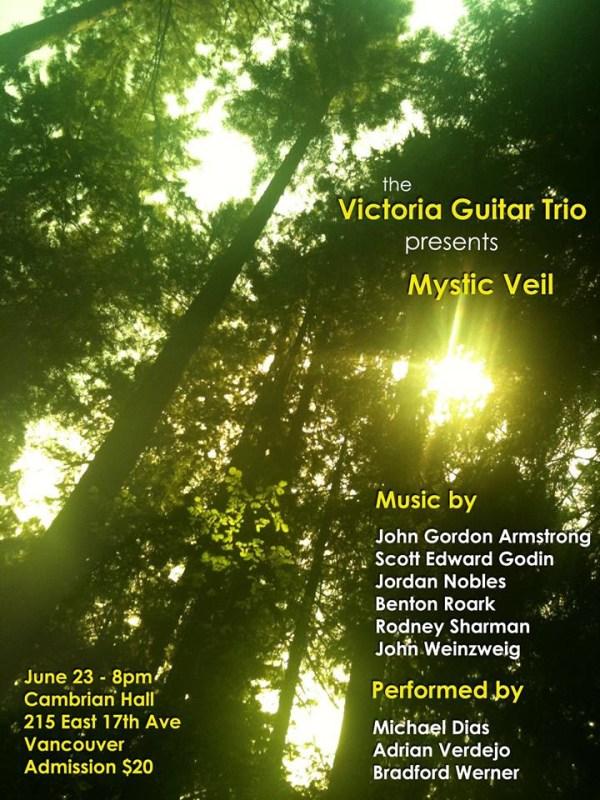 Victoria Guitar Trio Plays Vancouver