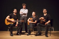 Victoria Guitar Trio with Benton Roark