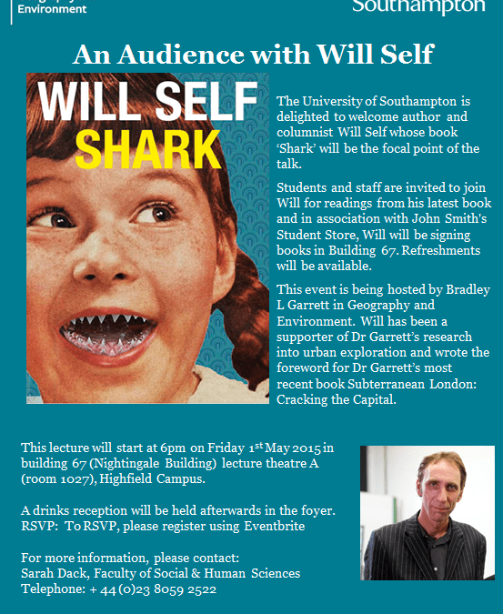 Audience with Will Self