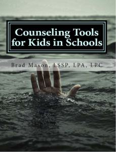 Counseling Tools Book cover front