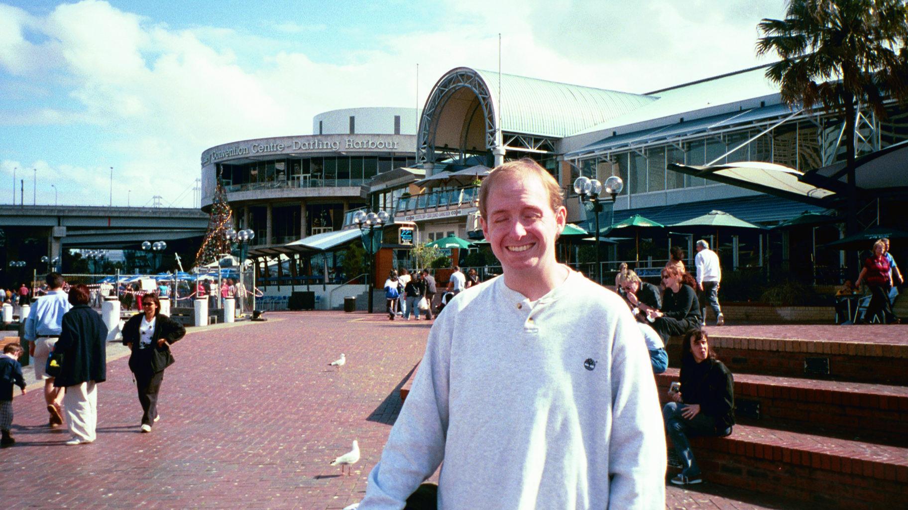 Dork at Darling Harbour