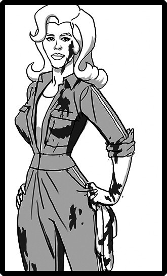 Character designs by Brad Rader for Savage, Wilde and Corrigan