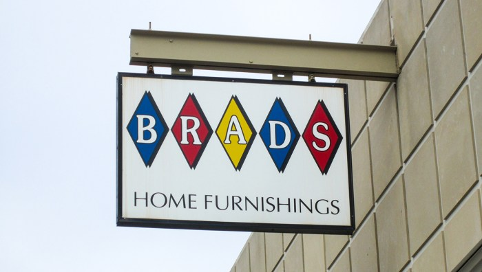 January 22nd. Brad's Home Furnishings. Columbus, IN.