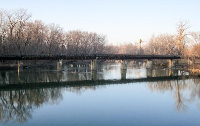 January 23rd. Bridge. Columbus, IN.