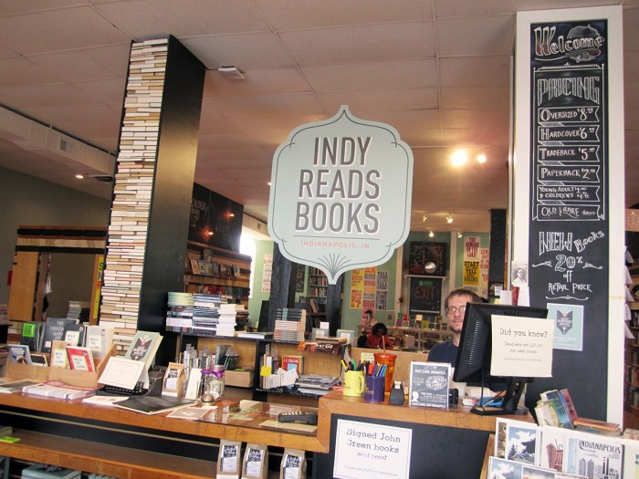 January 31st. Indy Reads bookstore. Indianapolis, IN.