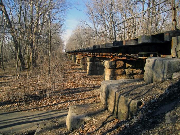 February 5th. Railroad bridge.