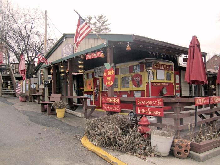 February 6th.  Trolley restaurant.