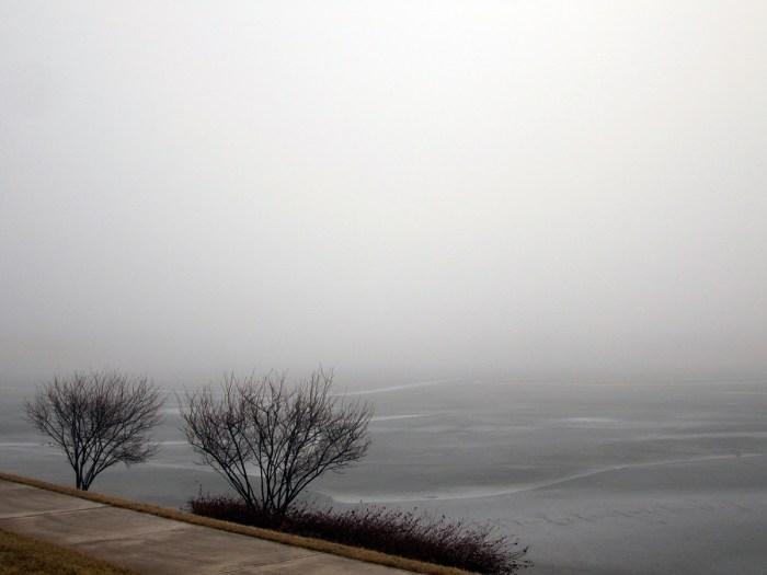 March 13th: Fog.