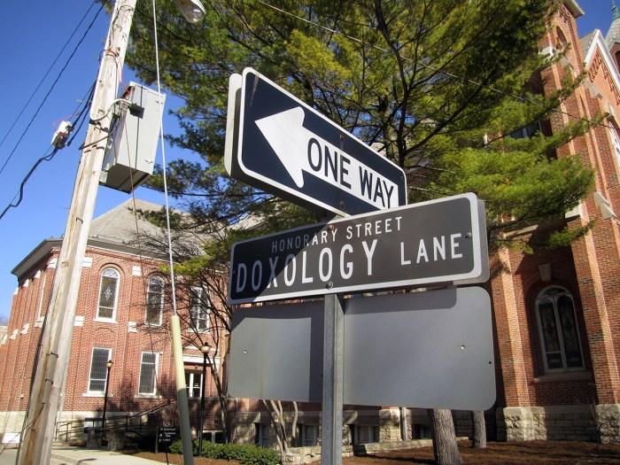 April 4th: Doxology Street.