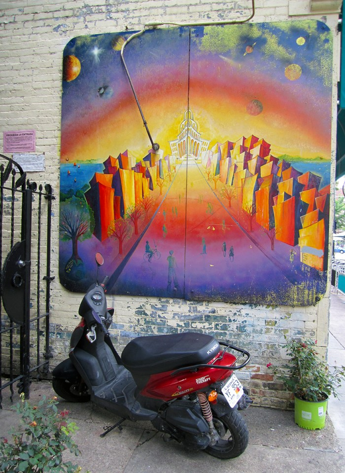 Scooter Painting