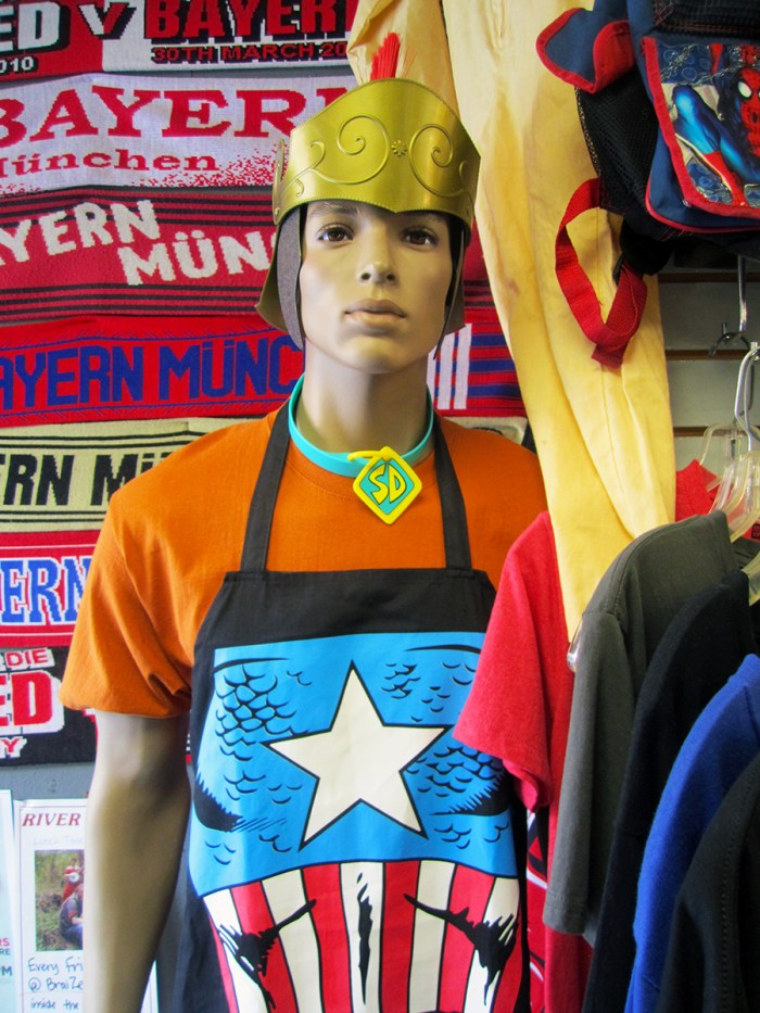 August 7th: Comic book mannequin (Normal, IL)